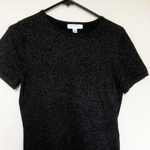 Isaac Mizrahi for Target sparkle fitted Tee, M
